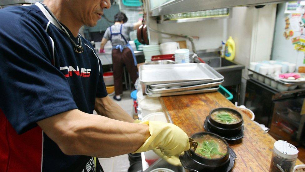 韓國狗肉湯