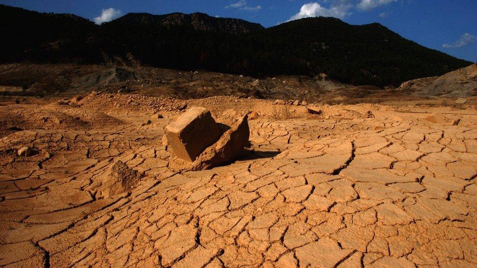 Sequía en España.