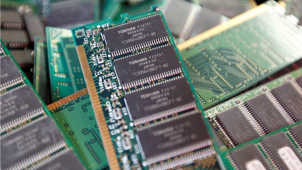 Japón ha perdido terreno en la industria electrónica.