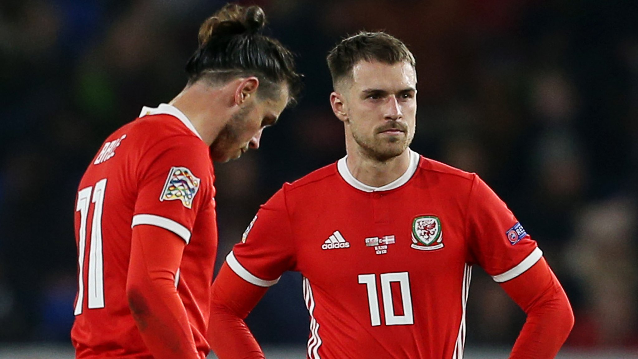 Aaron Ramsey: Wales midfielder out of opening Euro 2020 qualifier