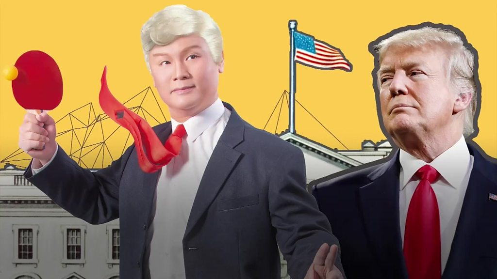 The all-singing, all-dancing Chinese Trump opera