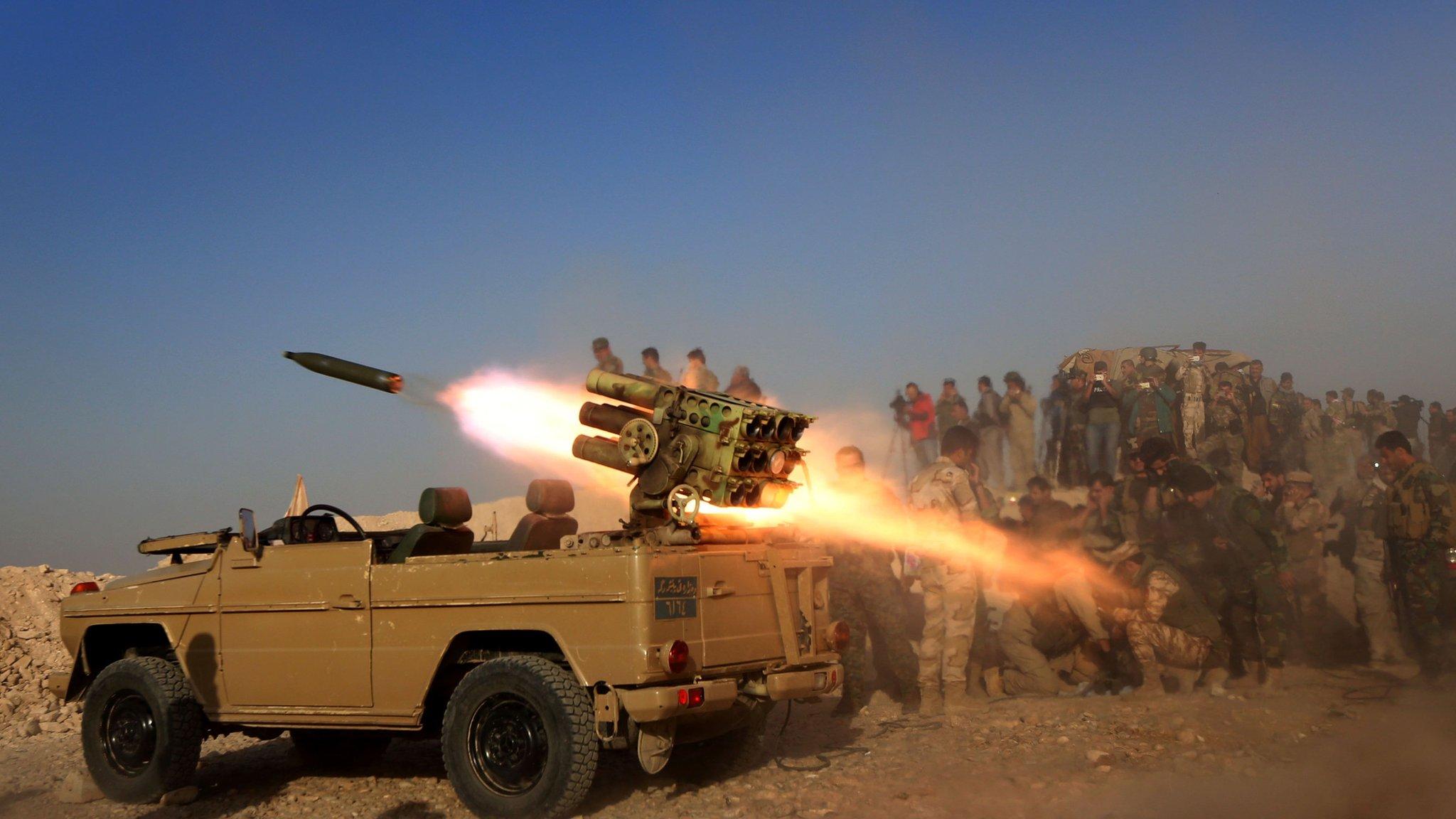 Iraqi PM upbeat on Mosul offensive
