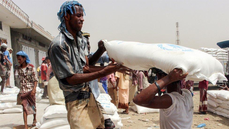 Le Yemen menacé par la famine
