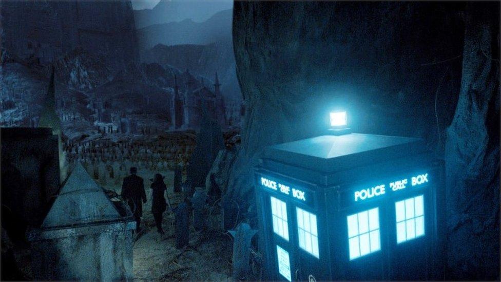 El Tardis del Doctor Who