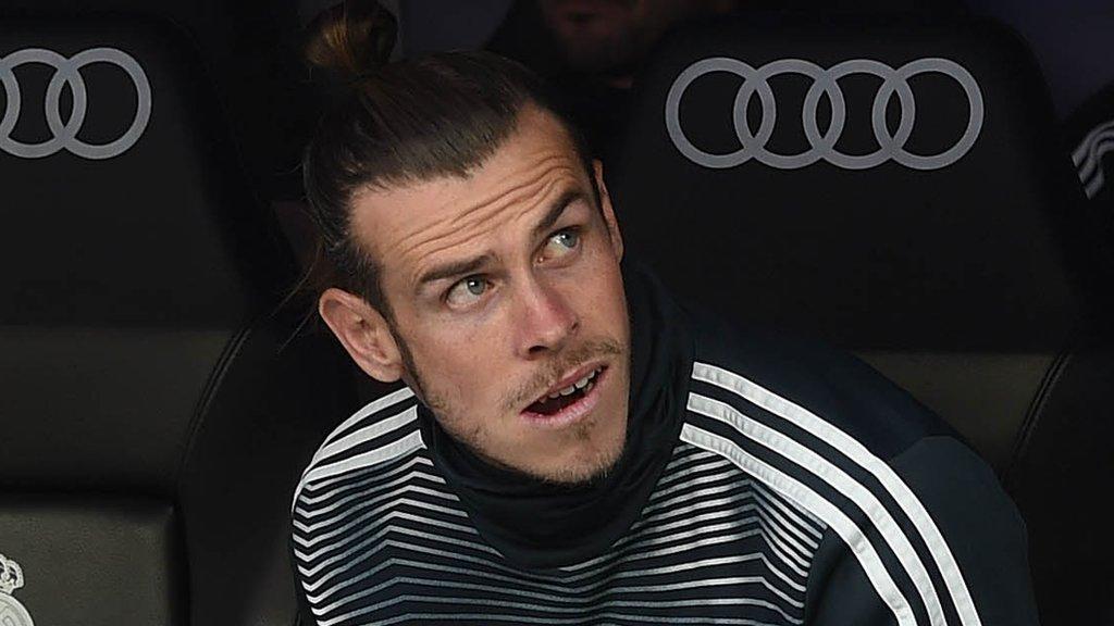 Gareth Bale: Staying at Real Madrid impossible' - ex-president Calderon