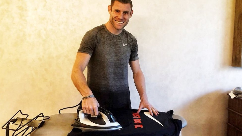 Liverpool's James Milner joins Twitter with Boring parody dig