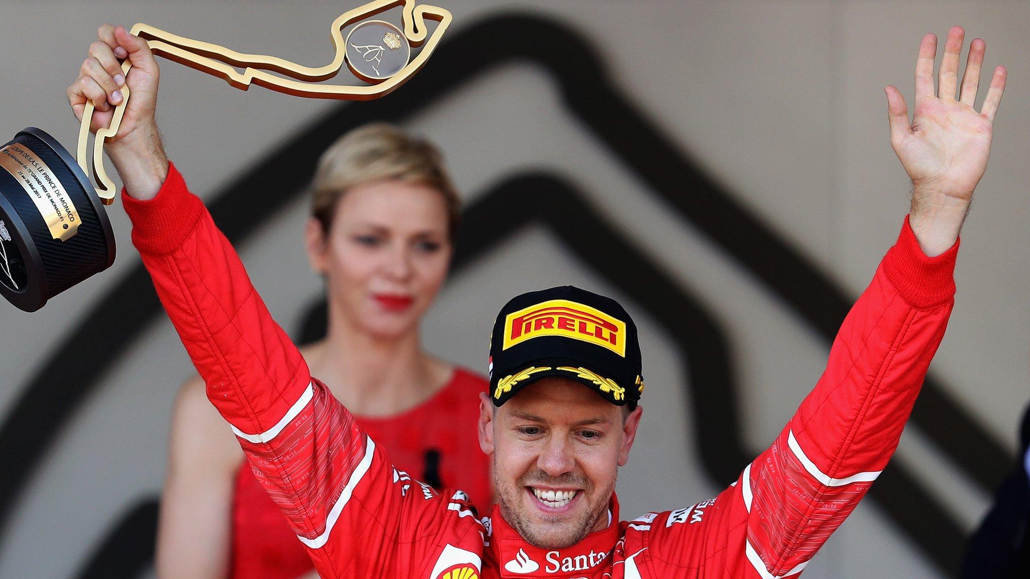 Vettel stretches title lead with Monaco win as Hamilton comes seventh