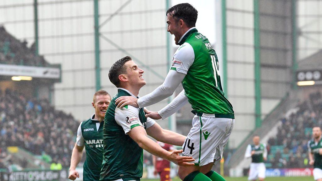 Highlights: Hibernian 2-0 Motherwell