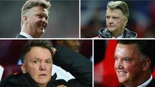 The many faces of Louis Van Gaal