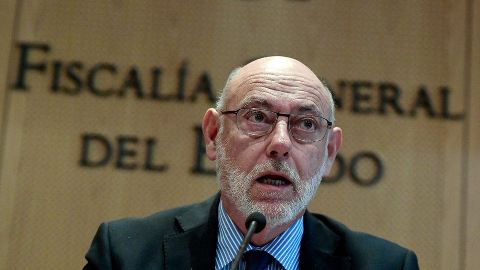 José Manuel Maza: Spain's attorney general dies aged 66