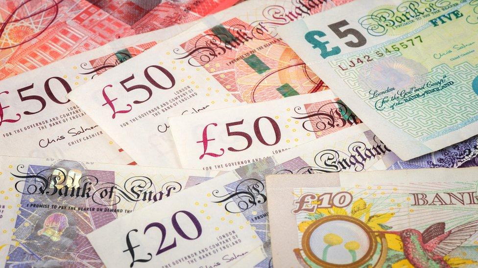 Billetes británicos