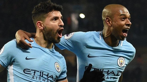 Who joins hat-trick hero Aguero in Garth's team of the week? Plus pick your own