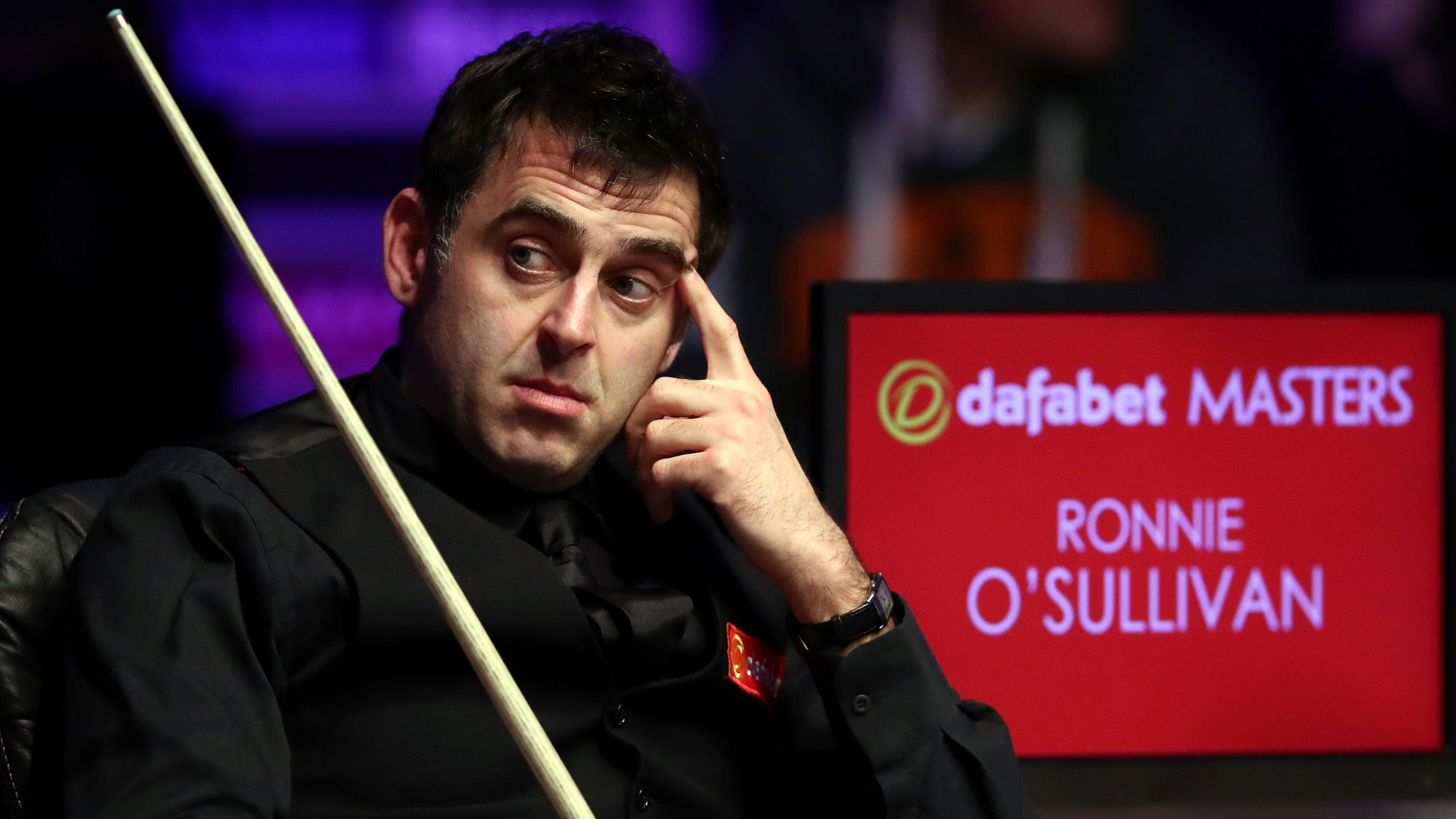 Defending champion O'Sullivan 'glad' to be out of Masters