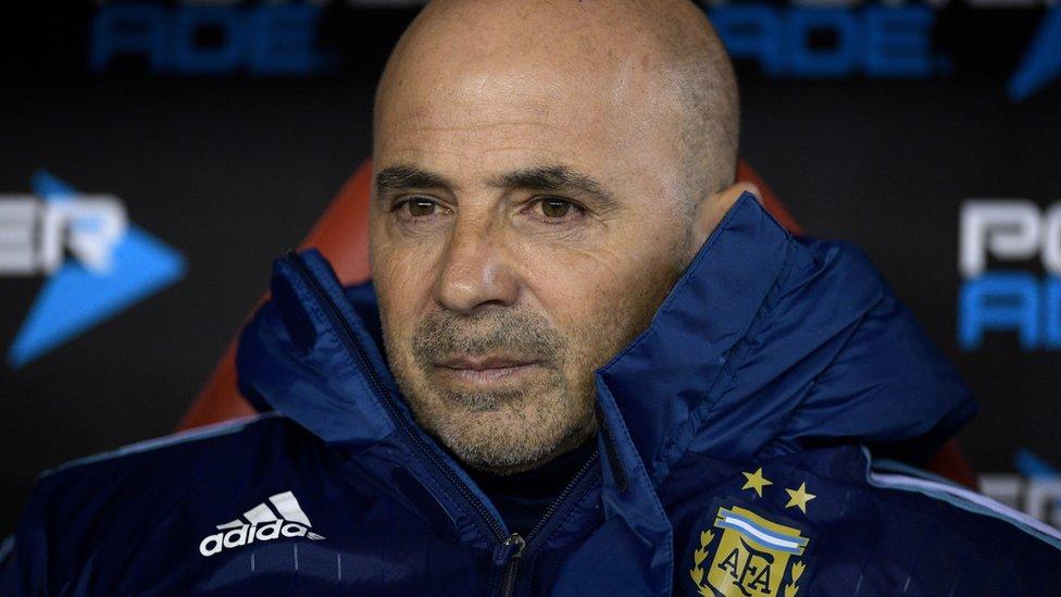 Sampaoli es el tercer técnico que se ha sentado en el banquillo argentino durante el proceso clasificatorio.