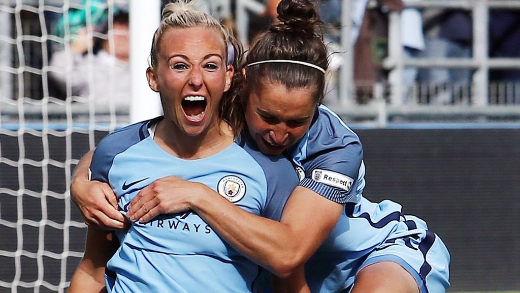 Manchester City win WSL title for first time