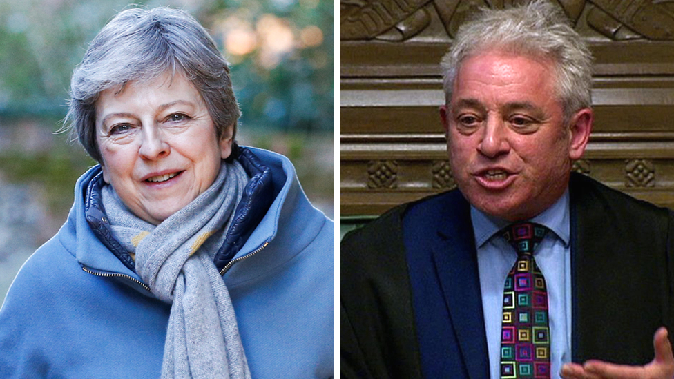 Brexit: New vote not ruled out despite Bercow decision