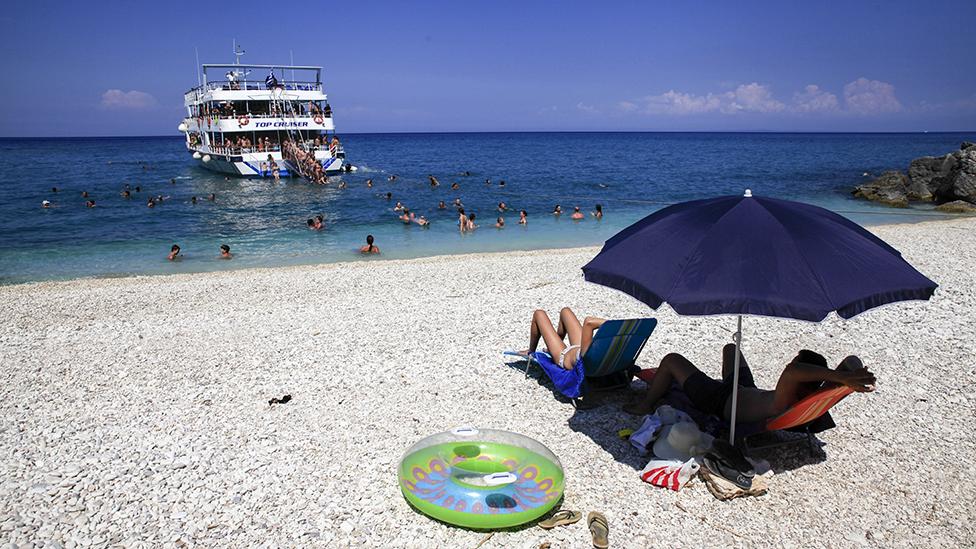 Zakynthos beach