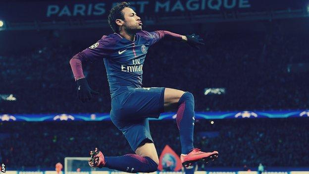 Neymar estuvo involucrado en 164 goles en sus 186 partidos con el Barcelona.