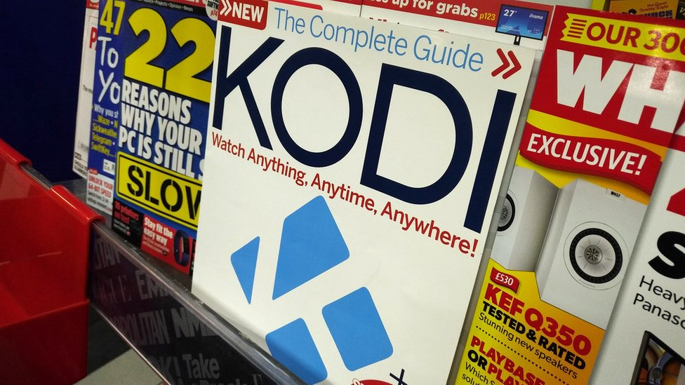 Kodi magazine 'directs readers to pirate content'