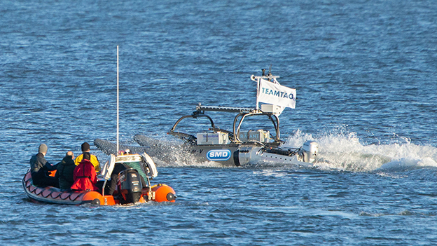Game-on for UK's Team Tao in ocean XPRIZE final