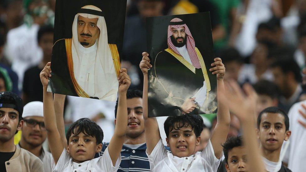 薩勒曼很受沙特年輕人擁戴