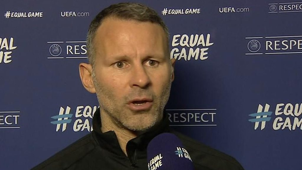 Wales 'deserved' Albania defeat, says Giggs