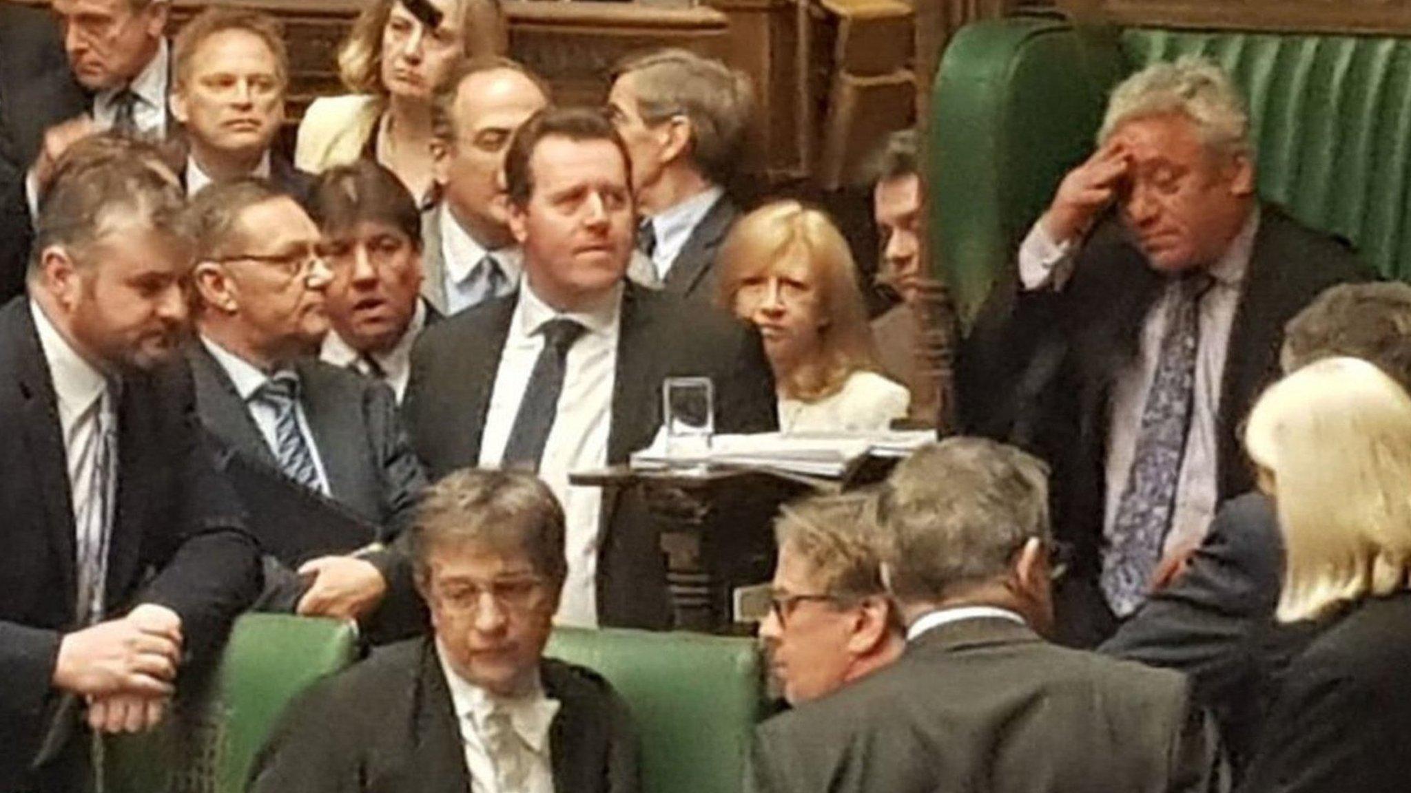 Westminster's weirdest week?