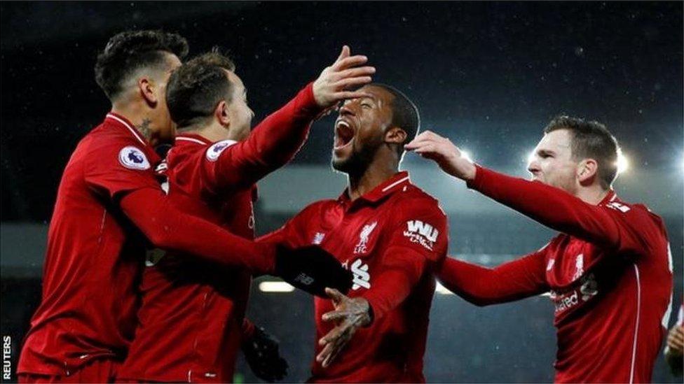 Liverpool reprend la tête de la Premier League