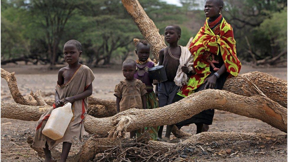 شمالی کینیا کا ایک قحط زدہ علاقہ