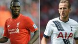 Christian Benteke and Harry Kane