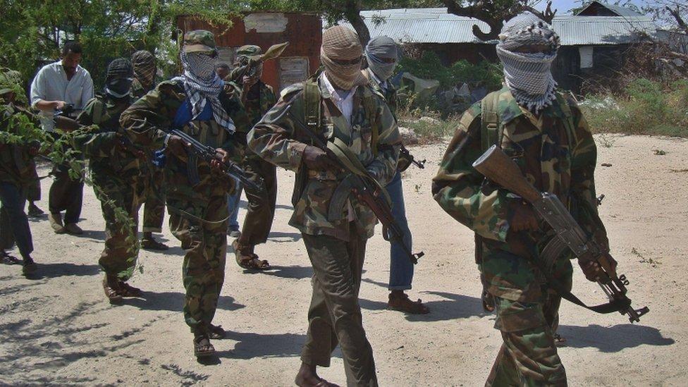 Combatientes de al'Shabab