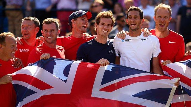 Great Britain Davis Cup team #