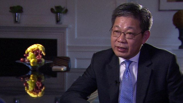 Zheng Dongshan, senior vice-president of the Chinese state nuclear business, CGN