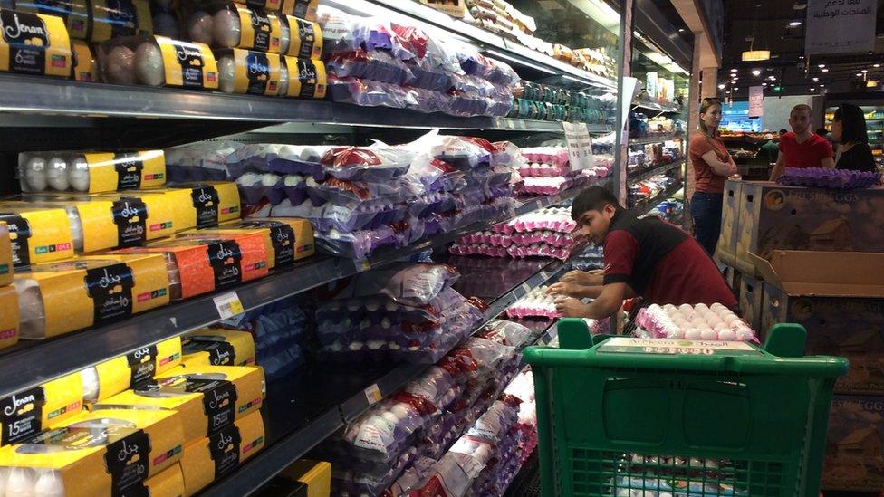 supermarket di Qatar