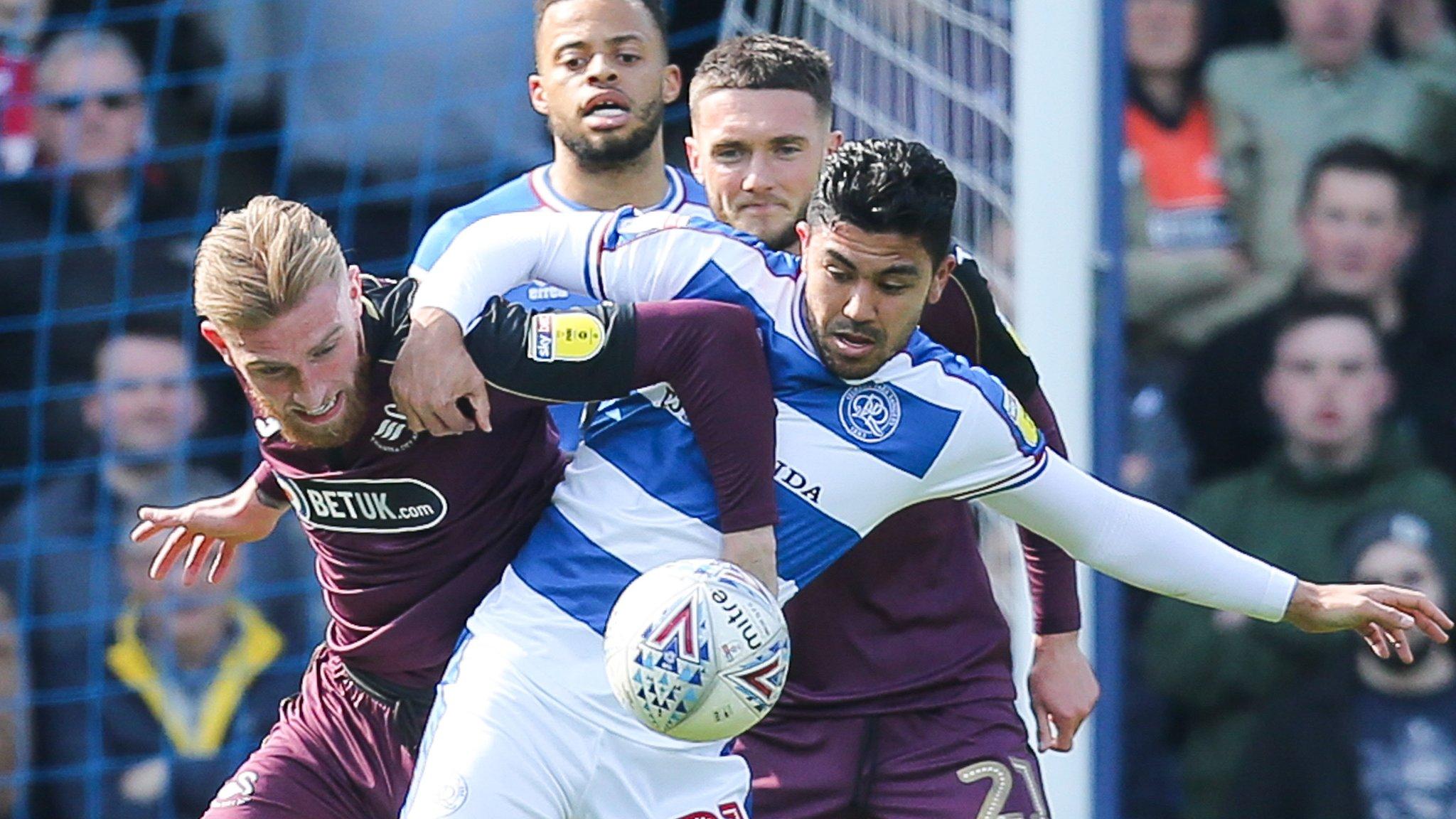 Queens Park Rangers 4-0 Swansea City: QPR ease relegation worries