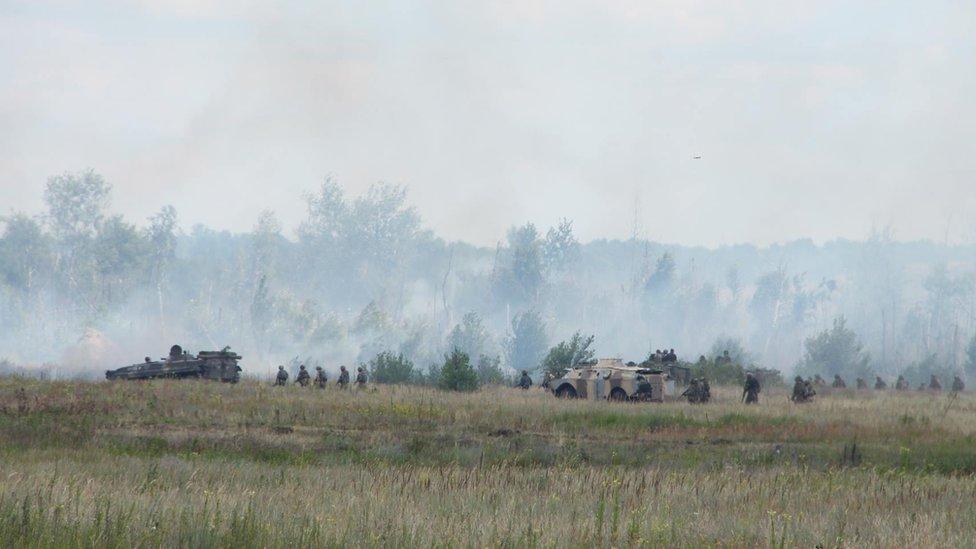 Взрыв на полигоне под Днепром: пострадали восемь военнослужащих