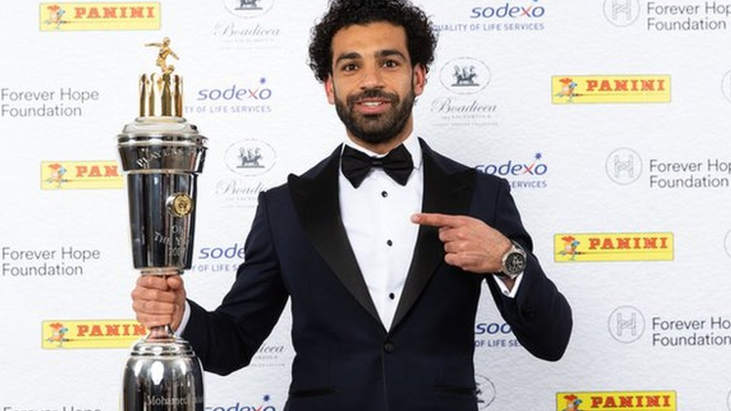 Mohamed Salah: Liverpool forward voted PFA Player of the Year 2017-18