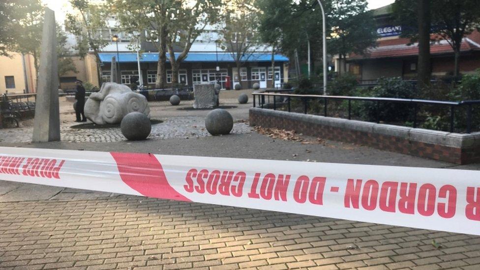 Ian Tomlin: 'Deep upset' over Battersea murder | BBC