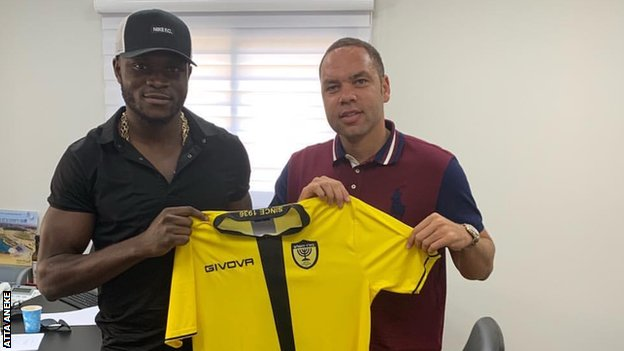 Nigeria striker Aaron Samuel joins Beitar Jerusalem