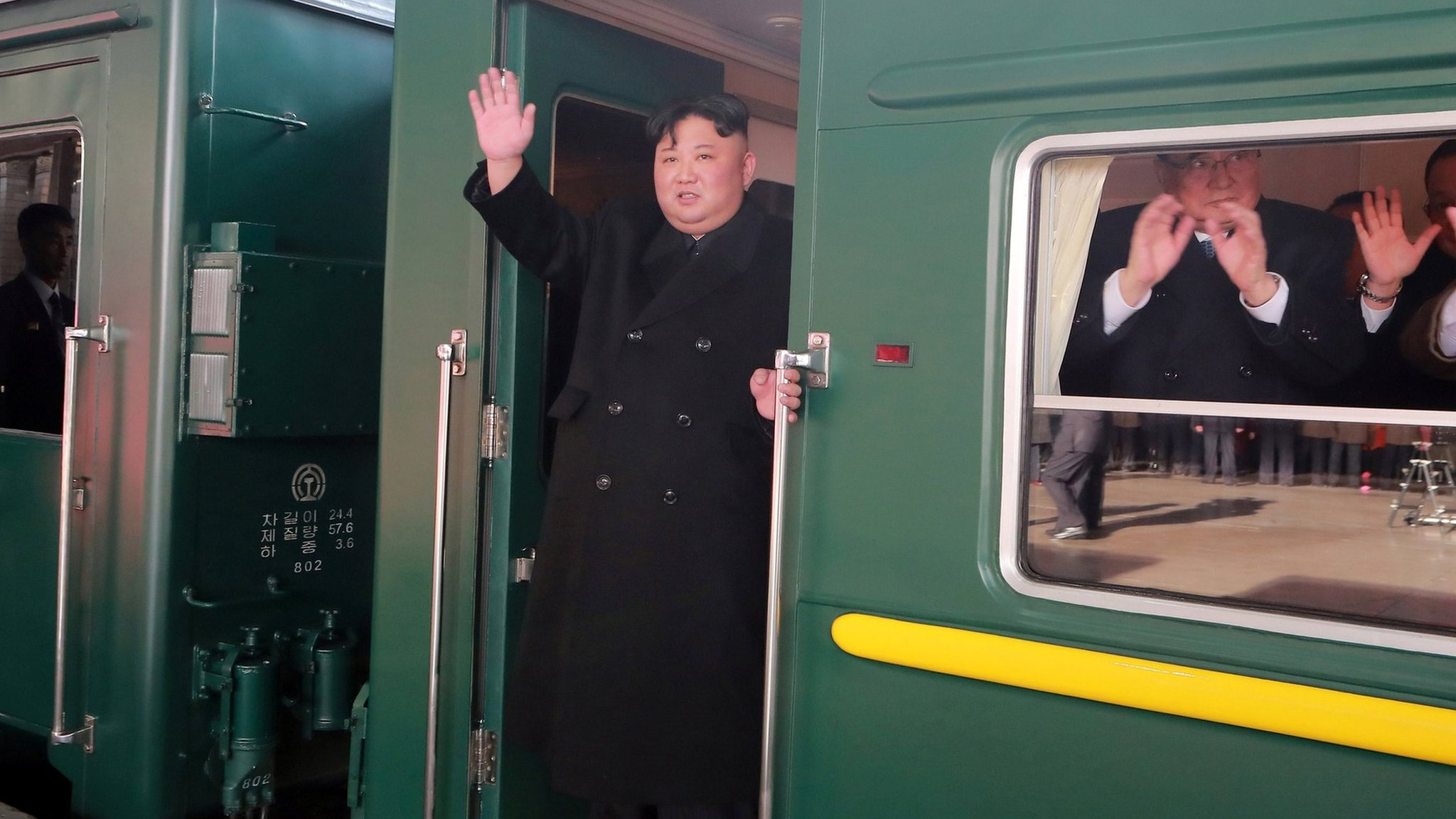 Kim Jong-un leaves North Korea for Vietnam by train