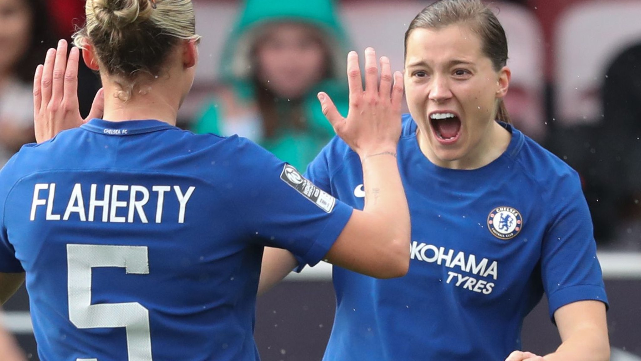 Chelsea Ladies v VfL Wolfsburg Ladies (Sun) | BBC