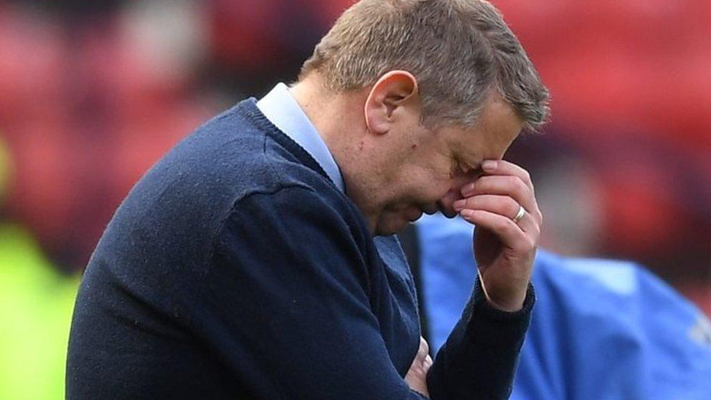 Hearts 3-0 Inverness CT: Offside 'goal' should have stood - John Robertson