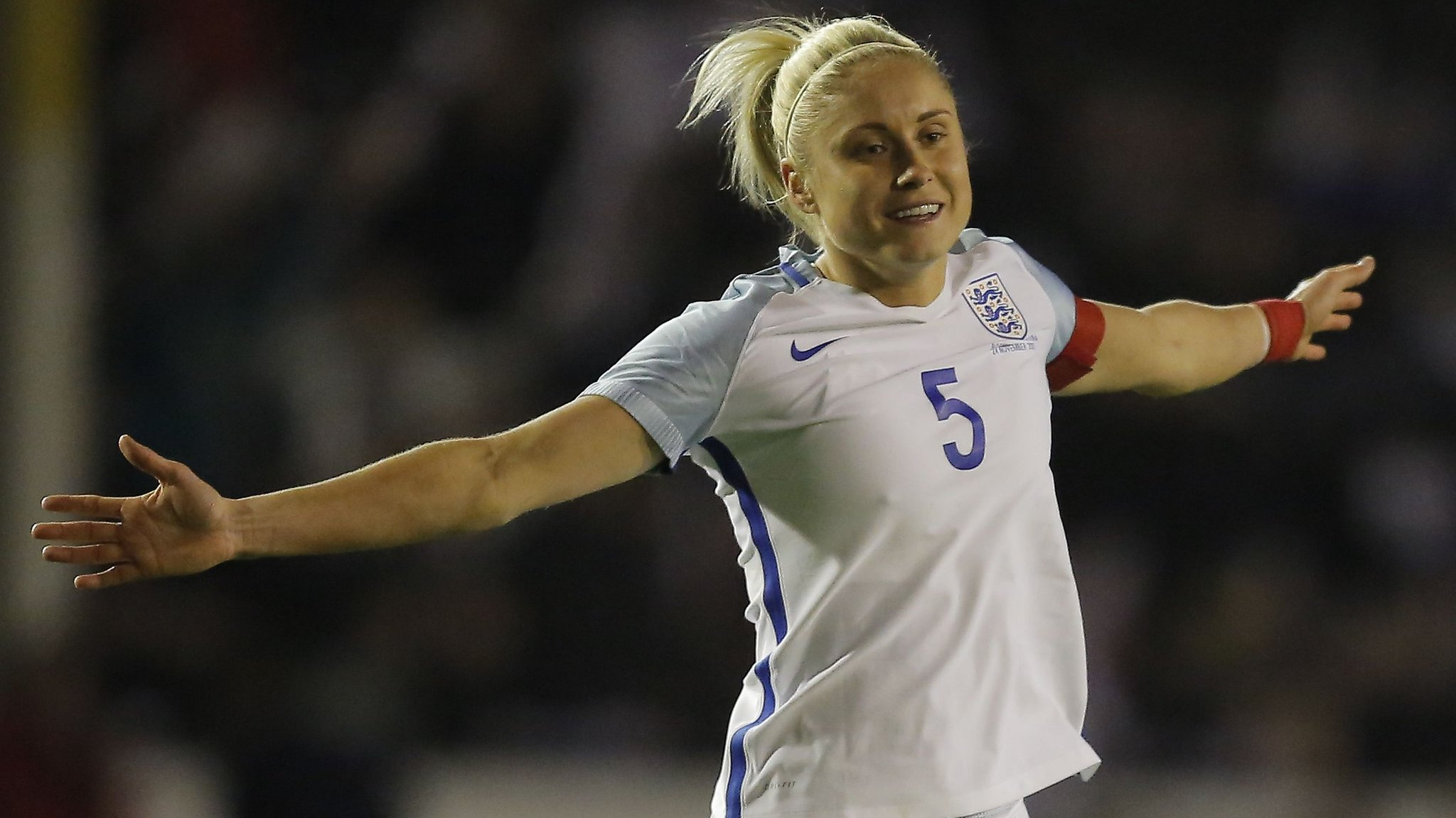 Houghton double as England put four past Bosnia-Herzegovina