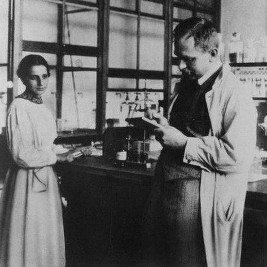 En tanto física teórica y químico experimental, Meitner y Hahn se complementaban a la perfección en sus investigaciones. (Foto: Archivos del Instituto Smithsonian)