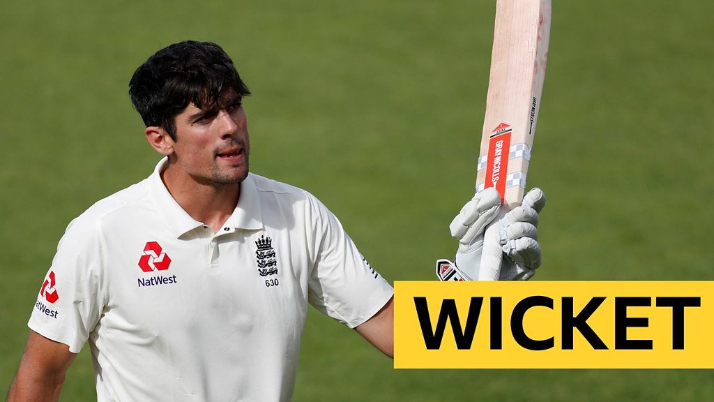 Cook bows out with last Test century