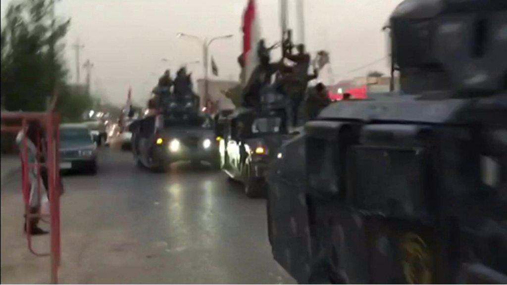 نیروهای دولت عراق وارد کرکوک شدند؛ هزاران نفر از شهر گریختند