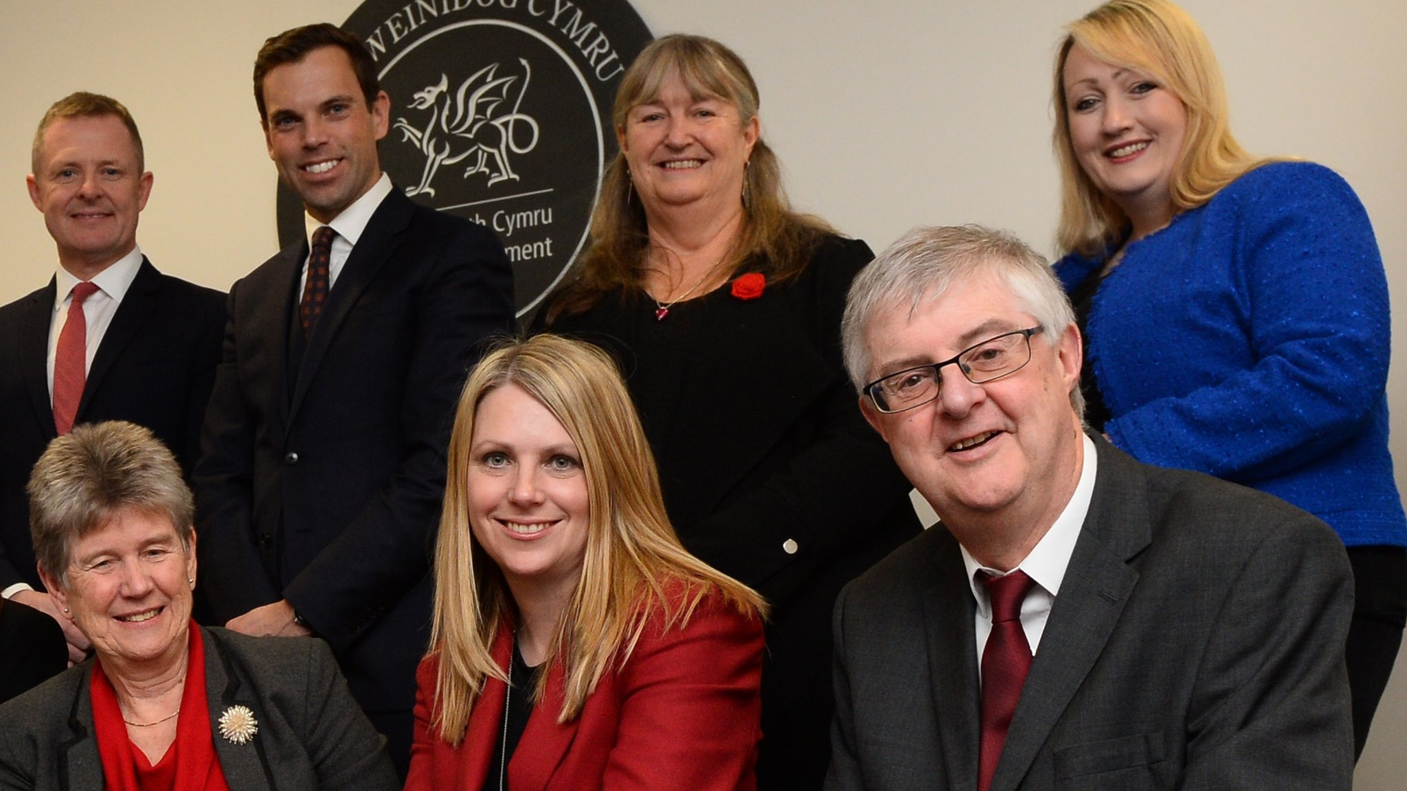 Wales first minister appoints his top team
