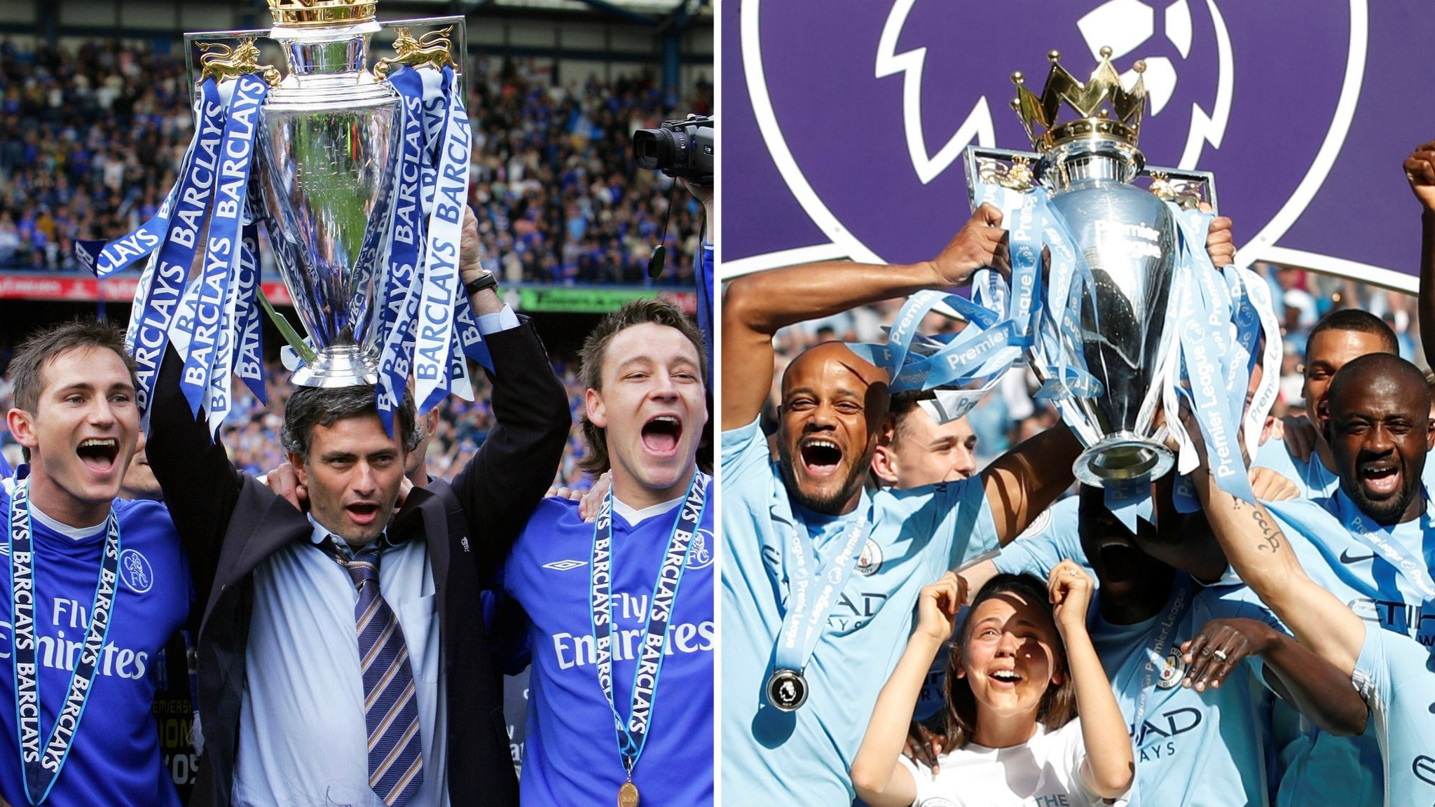 Chelsea 2005 or Man City 2018? Lampard picks his combined XI
