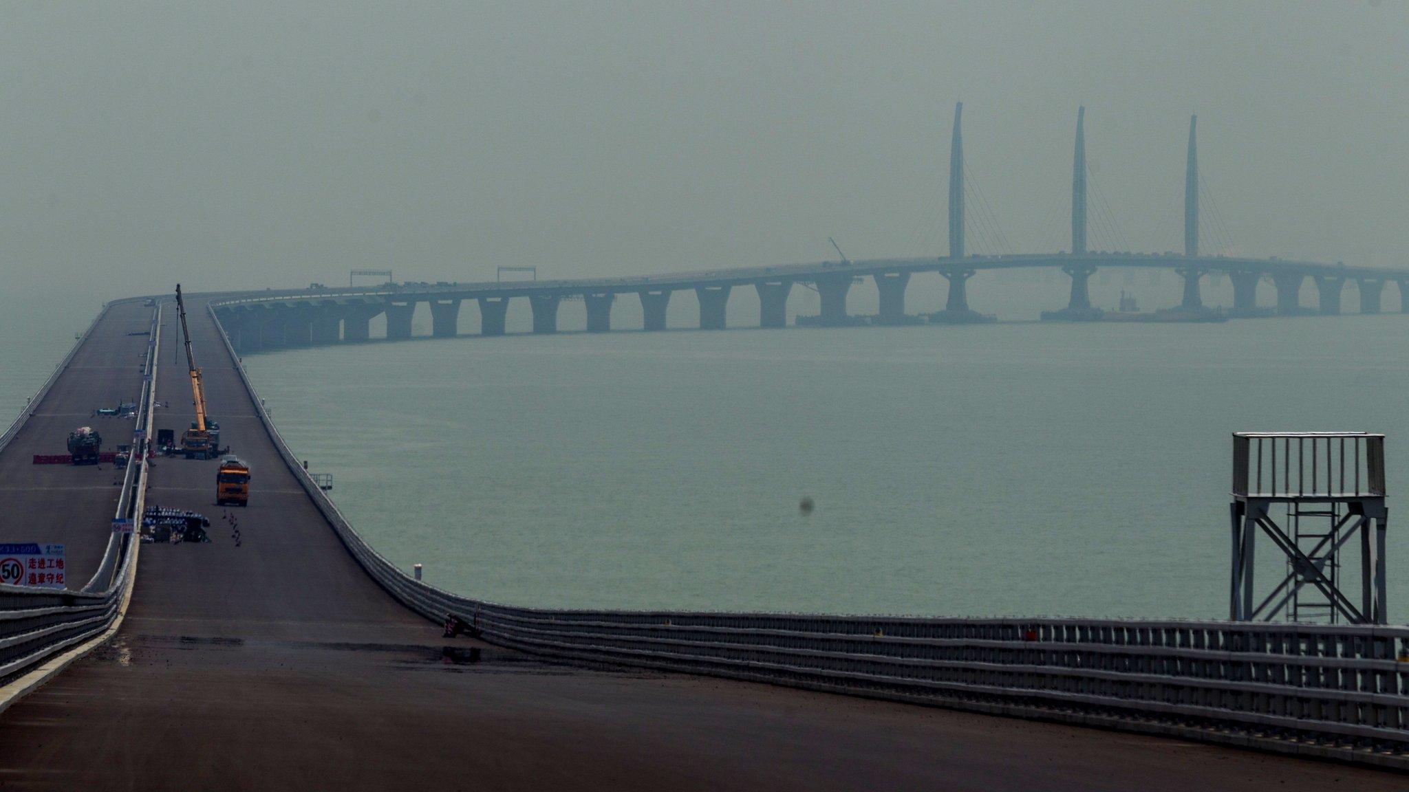 香港廉政公署踢爆  港珠澳大橋混凝土檢測造假