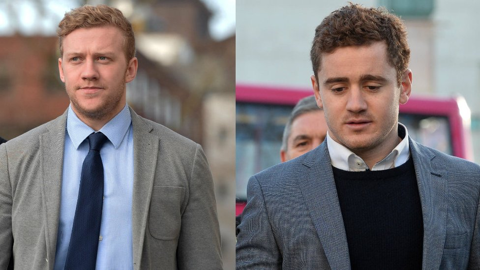 Rugby rape trial: Jackson and Olding not entitled to court costs